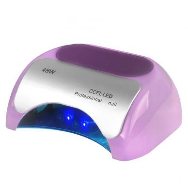 UV/LED/CCFL manikīra lampa 48W PROFESSIONAL SENSOR VIOLET