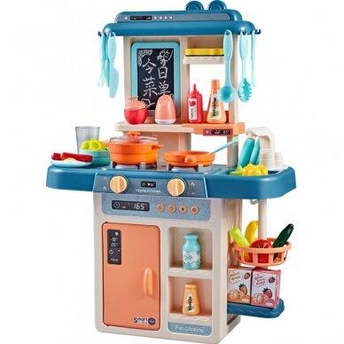 Vaikiška virtuvėlė LITTLE CHIEF BLUE