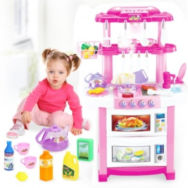 Bērnu virtuvīte TOY KITCHEN SET (1) 2