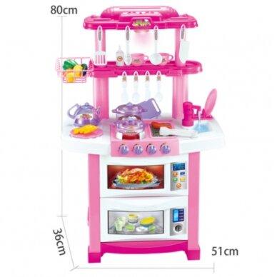 Bērnu virtuvīte TOY KITCHEN SET (1)