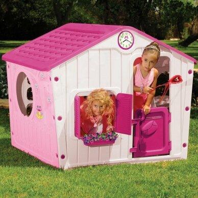 Vaikiškas žaidimų namelis GARDEN PINK 6