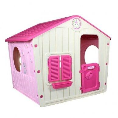 Vaikiškas žaidimų namelis GARDEN PINK