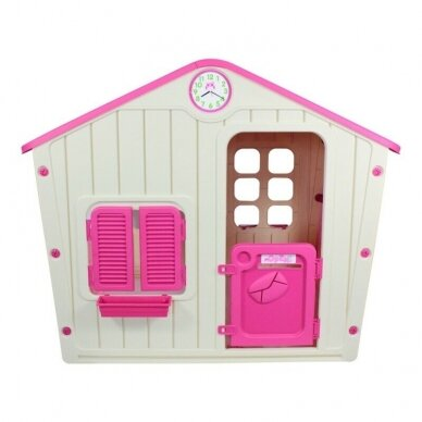 Vaikiškas žaidimų namelis GARDEN PINK 2