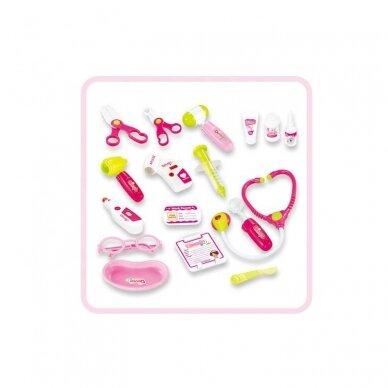 Arsti komplekt lastele, roosa 2