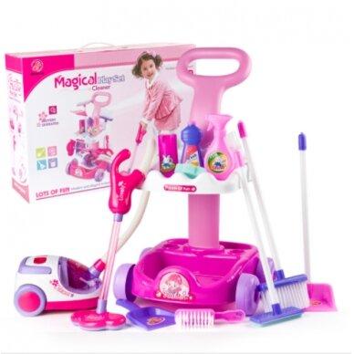 Žaislinis namų valymo rinkinys CLEAN HOME 2