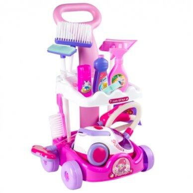 Žaislinis namų valymo rinkinys CLEAN HOME