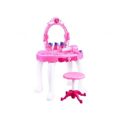Žaislinis kosmetinis staliukas su priedais BEAUTY SALON 2