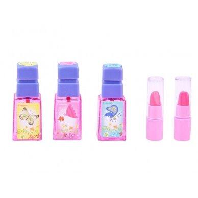 Roosa mänguasja tualettlaud aksessuaaridega tüdrukutele BEAUTY SALON 4