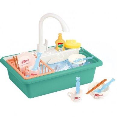Rotaļlietu komplekts BABY KITCHEN SINK (1)