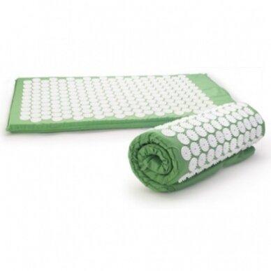 Akupresūros masažinis kilimėlis, 40x60cm GREEN 3